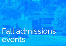 Fall Admissions Events