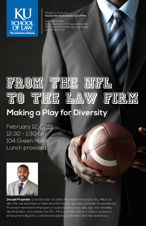 Donald Prophete | From the NFL to the Law Firm: Making a Play for Diversity