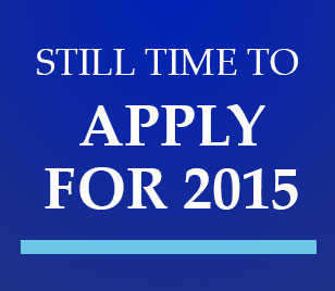 Still time to apply for 2015