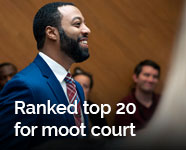 In focus: Top 20 ranking for KU Law moot court program