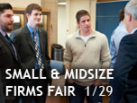 In focus: Small and Midsize Firms Fair | January 29, 2015