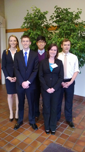 2014 Jessup Moot Court Team