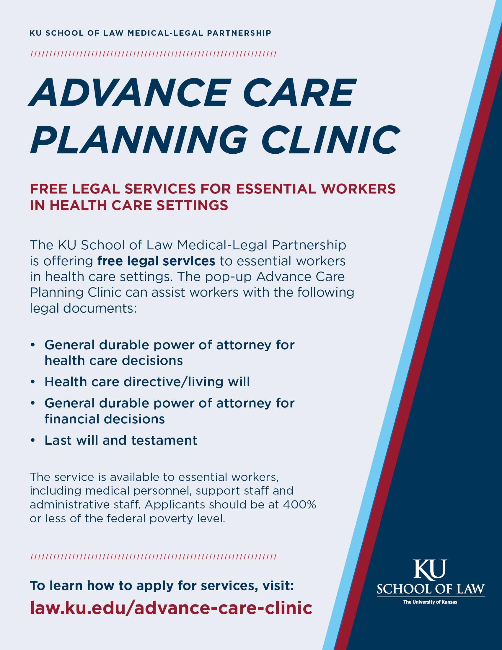Advance Care Planning Clinic