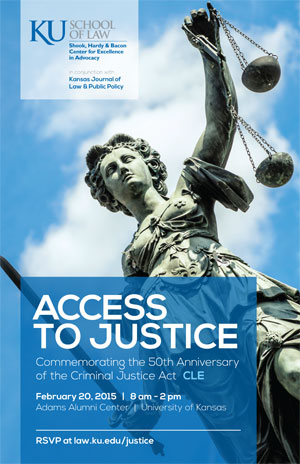 Access to Justice: Commemorating the 50th Anniversary of the Criminal Justice Act