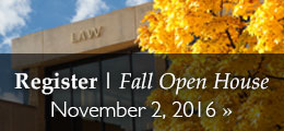 Register for the Fall Open House in Lawrence | November 2, 2016