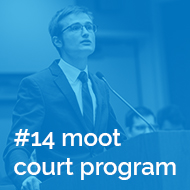 In focus: No. 14 Moot Court Ranking