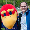 Dean Mazza with Baby Jay at KU Law Fun Day 2014